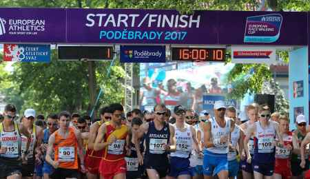European Race Walking Cup, Poděbrady 2017